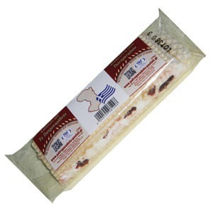 Nougat With Mastic, Almonds & Cranberries The traditional 50gr.