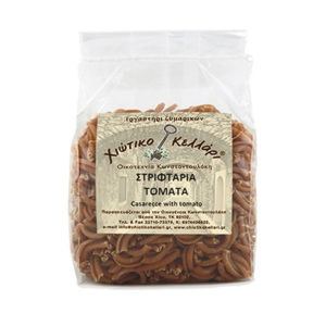 """Twisted Pasta With Tomato """"Chian Cellar"""" 500gr."""