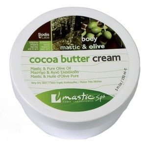 Mastic Spa Cocoa Butter Cream Olive Oil 150ml