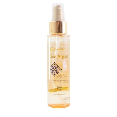 Mastic Spa Sun Argan Hair Oil 100ml