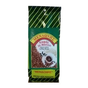 "Greek Coffee With Mastic From Chios Coffee Grinder ""Mendoni"" 100gr."