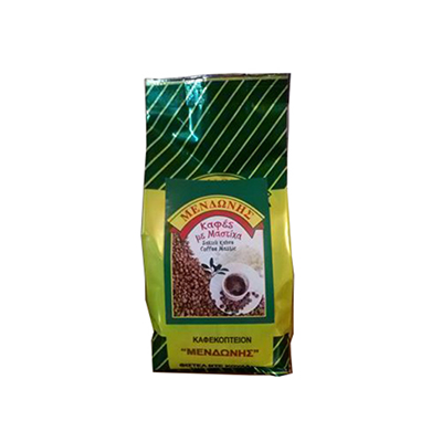 """Greek Coffee With Mastic From Chios Coffee Grinder """"Mendoni"""" 200gr."""