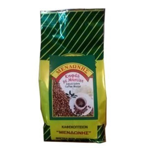 "Greek Coffee With Mastic From Chios Coffee Grinder ""Mendoni"" 400gr."