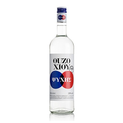 Ouzo From Chios Distillery Psychis 38%vol 700ml.