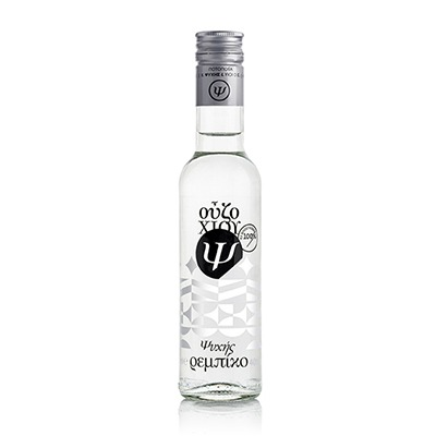 """Ouzo from Chios Distillery Psychis """"Rebiko"""" 40%vol 200ml."""