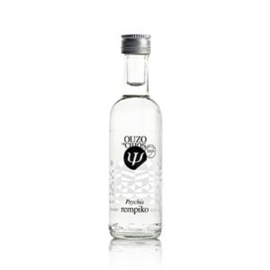 Ouzo from Chios Distillery Psychis