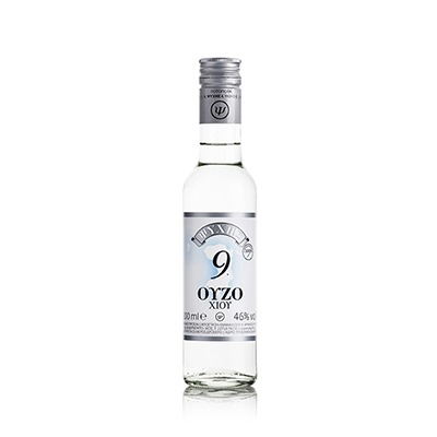 Ouzo From Chios Distillery Psychis Νο 9 46%vol 200ml.