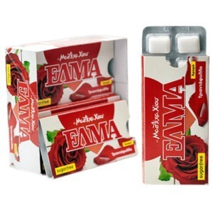 Chewing Gum ELMA Rose Sugar-Free