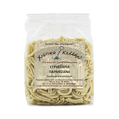 "Twisted Pasta With Parmesan ""Chian Cellar"" 500gr."