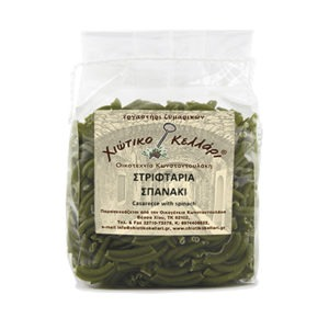 "Twisted Pasta With Spinach ""Chian Cellar"" 500gr."