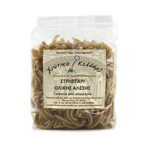 "Twisted Whole Grain Pasta ""Chian Cellar"" 500gr."