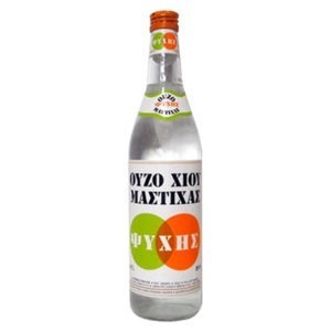 Mastic Ouzo From Chios Distillery Psychis 38%vol 500ml.