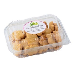Myrovolos Chian Cookies With Orange Flavor